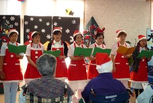 平成25年12月クリスマス会3