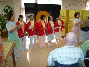 平成27年9月「敬老のお祝い」風景2