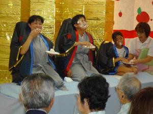 平成27年9月「敬老のお祝い」風景3