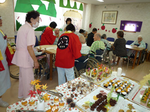 平成27年9月「敬老のお祝い」風景4
