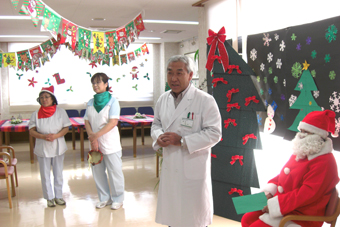 クリスマス会風景1
